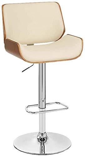 Silla de escritorio ergonómica giratoria taburete de bar ajustable para ordenador, pub, taburete de cocina, comedor, silla de recepción (color: A)-Something
