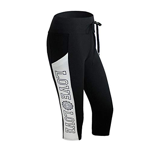 VJGOAL Pantalones de Yoga Estampado Deportivo Pantalones Deportivos Transpirable Entrenamiento Mallas con...