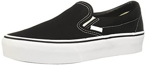 Vans Women's Classic Platform Slip on Trainers, Black (Black Blk), 8 B(M) US Women / 6.5 D(M) US Men