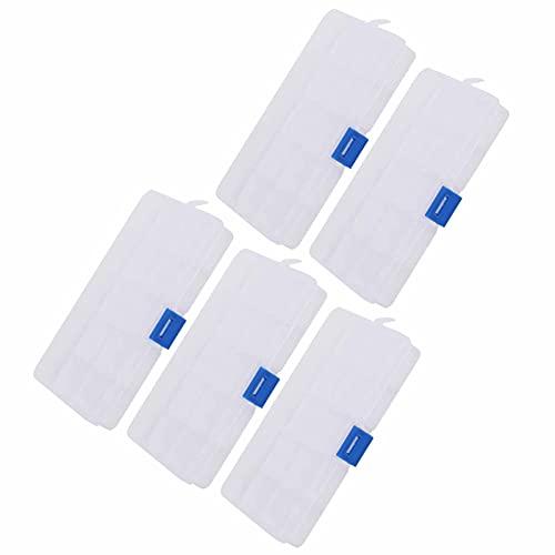Jinyi Caja De Almacenamiento, Caja Organizadora De Joyería Resistente Y Duradera para Colocación De Cuentas para Colocación De Pendientes para Colocación De Collares