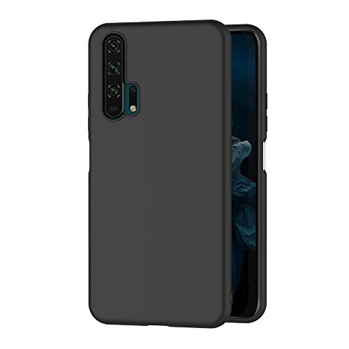 AICEK Compatible Honor 20 Pro Hülle, Schwarz Silikon Schutzhülle für Honor 20 Pro Hülle TPU Bumper Huawei Honor 20 Pro Handyhülle (6,26 Zoll)