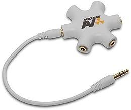NuclearAV Atom 5Star Audio Adapter - Multi Headphone Splitter
