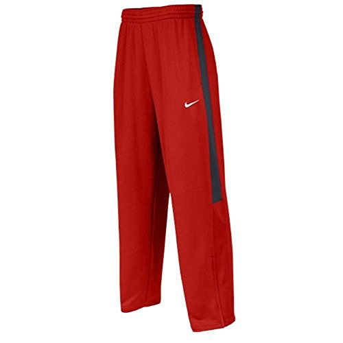 Nike Men's Team League Pants (Small, Scarlet/Anthracite)