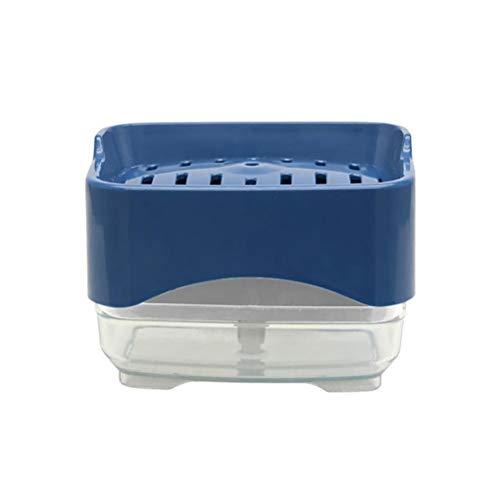 BASOYO Sistema del dispensador del jabón líquido, Tenedor del Organizador del dispensador de la Bomba de Mano para el Fregadero de la Cocina ordenado