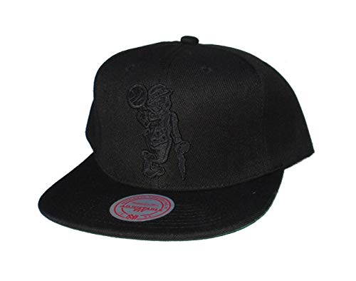 Mitchell & Ness Boston Celtics Snapback Adjustable Under The Black Hat Cap - Black