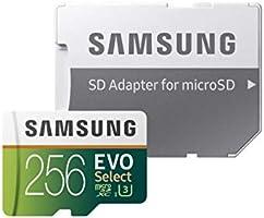 سامسونج بطاقة ذاكرة متوافقة مع متعدد - بطاقات مايكرو اس دي - 256 جيجابايت MB-ME256GA/AM