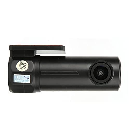 Tomanbery Cámara de visión Nocturna Protección Las 24 Horas Grabador de conducción en Tiempo Real HD Mini Gran Angular de 170 ° para Sistema de protección de Seguridad