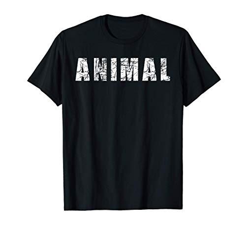 Original ANIMAL Gym Shirt Workout Bodybuilding Lifting Funny Gift Leggera, taglio classico, maniche con doppia cucitura e orlo inferiore