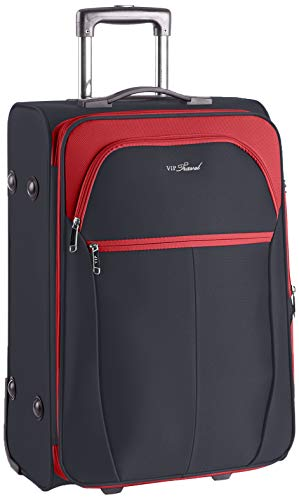 WITTCHEN Unisex-Erwachsene VIP Collection Koffer Luggage-Suitcase, Rot, M (63x42x32cm)