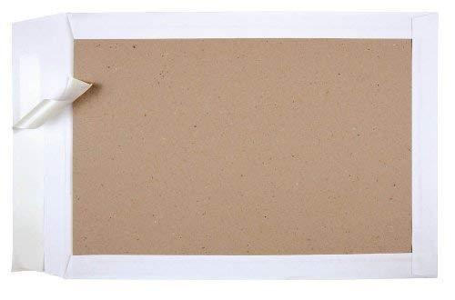 100 MAILmedia Papprückwand - Versandtaschen C4 ohne Fenster / weiß