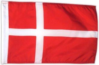 Fahne Flagge Dänemark 30 x 45 cm