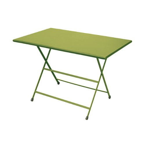Arc en Ciel - Table pliante rectangulaire - 110 x 70 cm - Vert