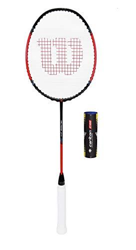Wilson Recon Carbon 80g Raquette de badminton +...