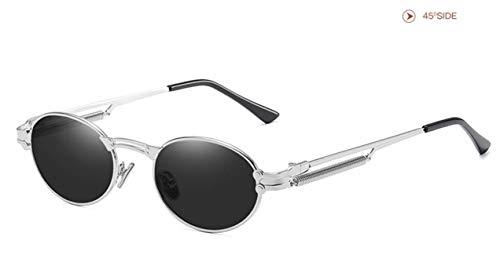 DIVAND Polarisierte Pilot Sonnenbrillen Herren Metallrahmen Mode Vintage Spiegel Objektiv Unisex Brillen Fahren Angeln Radfahren Einkaufen Golf Sportbrillen, UV400,C3