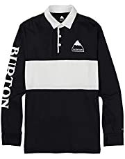 Burton Midweight Rugby Camiseta termica, Hombre