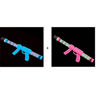 Glow in the Dark Moon Blaster - His and Hers Couples Set