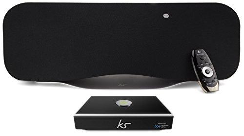 KitSound KSCAYMLNK Cayman Bluetooth Lautsprecher / Link Multiroom Audio Wireless Music Streaming System mit Allplay und Spotify Connect im Set -