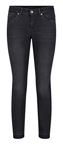 MAC Jeans Damen Slim Open Hem Jeans, D966 Anthra Basic wash, 36/27