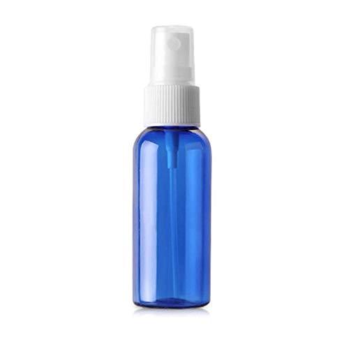 Flacon rechargeable de liquide d'hydratation, flacon pulvérisateur à pompe à pression de parfum, utilisé dans la cuisine, la salle de bain et le nettoyage, 50 ml Bleu 1 en 5 paquets