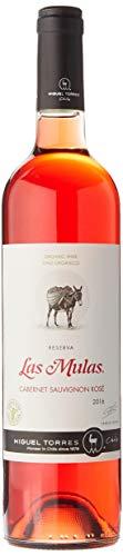 Las Mulas Cabernet Sauvignon Rosé, Vino Rosado - 750 ml