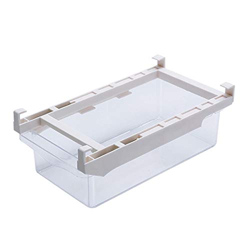 Renwu Eierhalterung Kühlschrank Schublade Organizer Eierschublade,kühlschrank Aufbewahrungsbox Schublade,Eier Vorratsbehälter Eierbehälter Für Kühlschrank29x16x7,6 cm