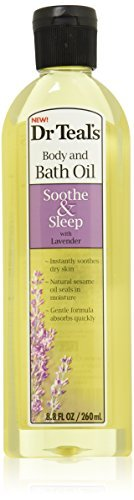 Dr. Teal's Body and Bath Oil (Lavender, 8.8-Ounce, 6-Count) by Dr. Teal's