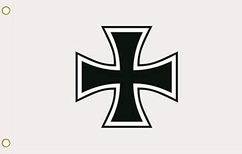 U24 Flagge Fahne Eisernes Kreuz 90 x 150 cm