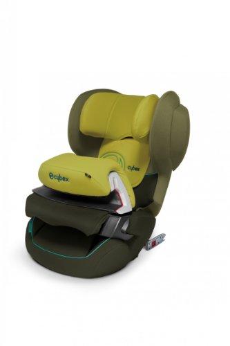Cybex Juno Fix–Auto-Kindersitz Gruppe 1(9–18kg), 9meses-4Jahre mit Isofix, grün