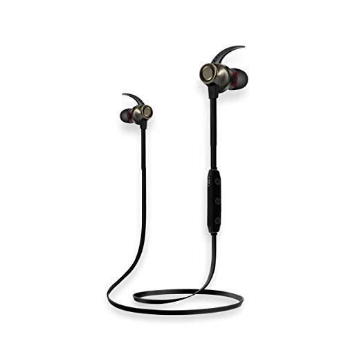 Sound One X70 Sports Bluetooth Magnetic Earphones with Mic (Gun Metal)
