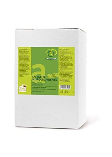 Multikraft Effektive Mikroorganismen Aktiv (EM-Aktiv), Bodenhilfsstoff - 5 l Bag in Box