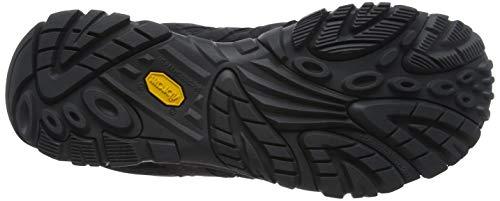 Merrell Men Moab 2 Smooth GTX Low Rise Hiking Boots, Black Black, 7 UK