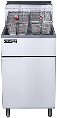 Dukers DCF5-NG Natural Gas Fryer 5 Rare Burners High quality with Tube