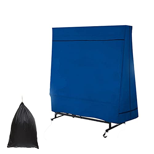 YAHAO Cubierta de Mesa de Ping Pong Al Aire Libre Impermeable Vertical,Cubierta Antipolvo Oxford Impermeable a Prueba de Lluvia Al Aire Libre Protección UV Mesa de Tenis Cubierta de Almacenamiento