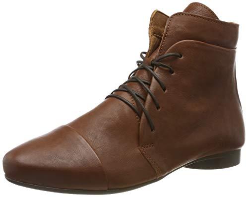 Think! Damen Guad_585279 Desert Boots, Braun (Cognac 55), 39.5 EU