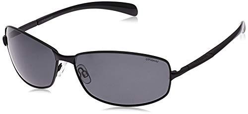 Polaroid P4126 Y2 KIH 66 Gafas de sol, Negro (Black/Grey Pz), Hombre