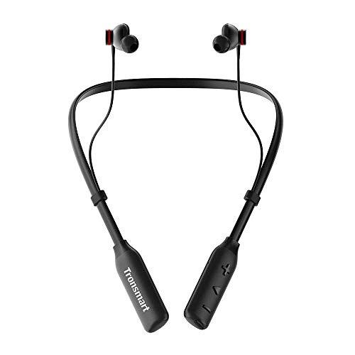 Bluetooth Earphones,Tronsmart S2 Plus wireless headphones (24Hours...