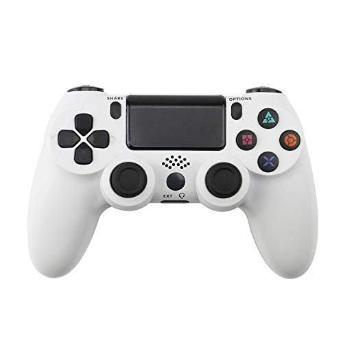 PS 4Controller Wireless Game Board, geeignet fürPlaystation Dualshock 4Bluetooth Joystick Vibration Game Board, verwendet fürPS4 Pro Silm PS3 PC-Spiel weiß