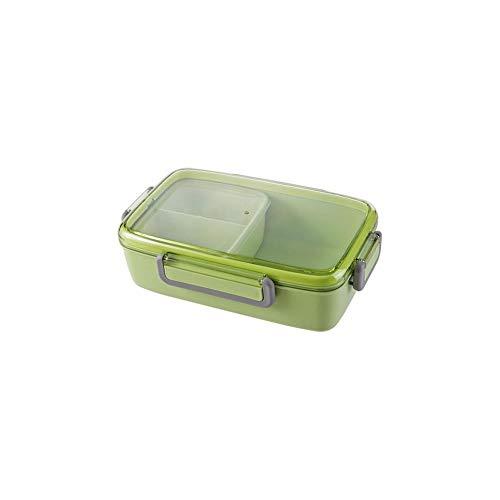 Foshuo Lunch Box Riutilizzabile Scomparto Rimovibile Bento Box Contenitore per Alimenti,Contenitore per Il Pranzo sottovuoto Lunch Tote Hand Lunch Boxes Contenitore Lunch Box Jar Lunch