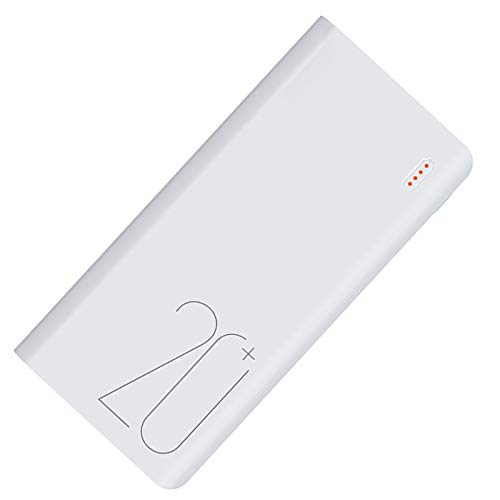 SPARKX 20000Mah Mobile Power Bank, Two-Way C-Type Fast Charging Interface, Input 9V / 2A, And Output 12V / 1.5A, Suitable for Smart Phones, Tablet Computers, Etc.