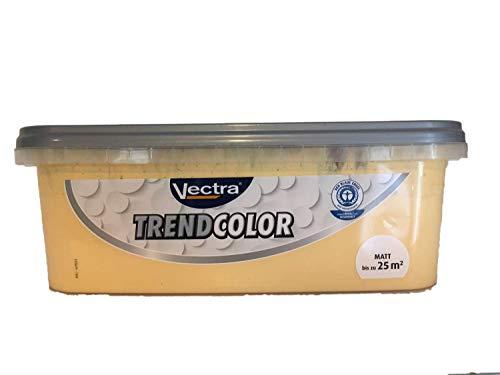 Vectra Trend Color Bunte Wandfarbe matt 2,5 Liter FARBWAHL, Farbe:calendula