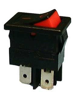 Mini Snap-in Rocker Switch - SPST / On - Off : 30-850