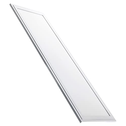 Led Atomant Panel Led Slim 120 x 30 cm, 48 W, Color Blanco Frio 6500K, 4100 Lumenes reales, Driver incluido, 1195 x 295 x 9 Mm