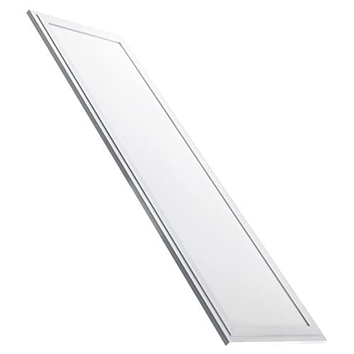 Panel Led Slim 120x30 cm. 48w. Color Blanco Frio (6500K). 4400 Lumenes. Driver incluido. A++