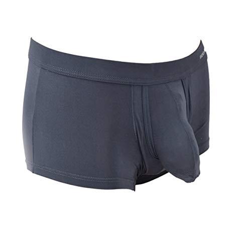 SpecialUnderwear - Calzoncillos tipo bóxer con bolsillos para los testículos para una mejor ventilación, talla L
