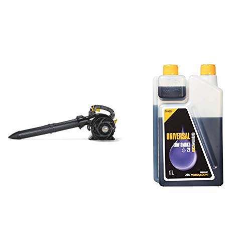 McCulloch B-Laubbläser/-sauger GBV 345 00096-71.670.01 & 00057-76.164.02 Aceite para motores tiempos de 1,0L 2-Takt-Öl, 1 Liter, Standard