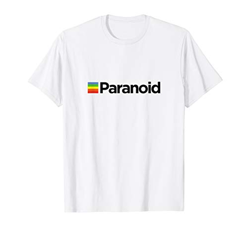 Paranoid - Aesthetic Vintage Vaporwave Stil T Shirt T-Shirt