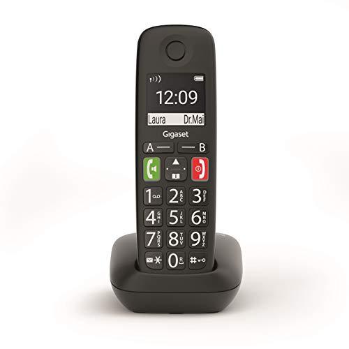 Teléfono inalámbrico Gigaset E290 Tonos Fuertes
