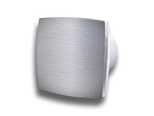Preisvergleich Produktbild Wandventilator Abluftventilator Badezimmerlüfter Badlüfter Wandlüfter KLDA pro mit Aluminium front System Ø 100,  Funktion Standard
