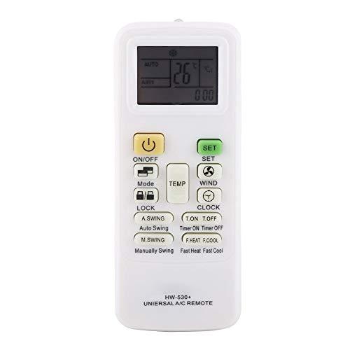 Tihebeyan Universal-Klimagerät Fernbedienung Ersatz für Gree Midea LG Sharp Haier Toshiba Samsung Klimaanlage