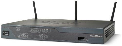 Cisco 881W Integrated Service Wireless-Router (4-Port, 4-polig, 3x RJ45, USB)